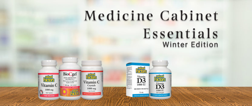 Medicine Cabinet Essentials: Winter Edition